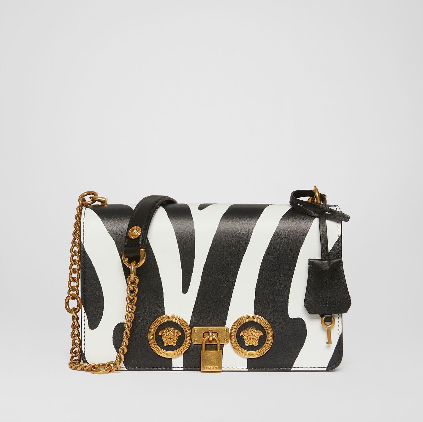 范思哲/Versace ZEBRA印花ICON单肩包