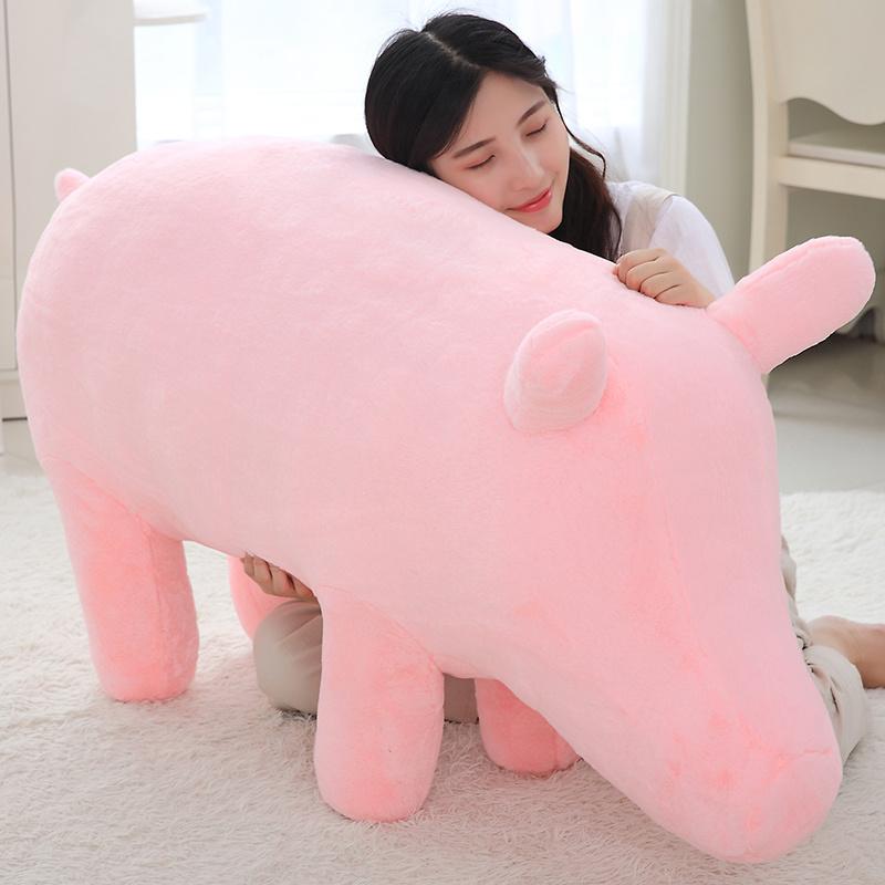 向往的生活猪沙发坐骑毛绒玩具安抚治愈娃娃公仔可拆洗儿童礼物