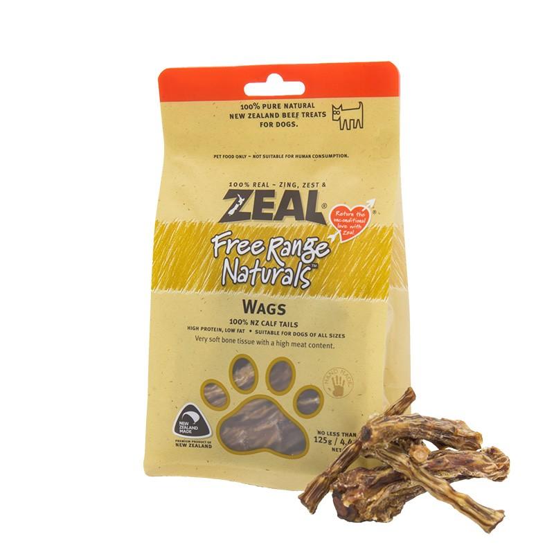 zeal真致 狗零食 风干小牛尾骨干125g 宠物零食耐啃咬牛骨牛肉干